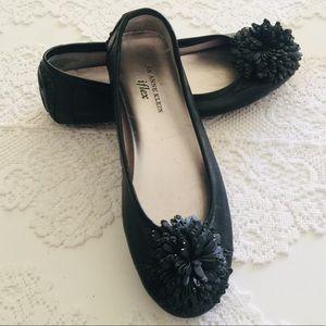 Anne Klein black flats